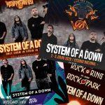 Тур System of a Down в 2020 году